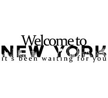 welcome to new york -1989 by suzeejobs