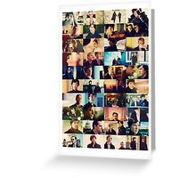 sherlock bbc caps Greeting Card