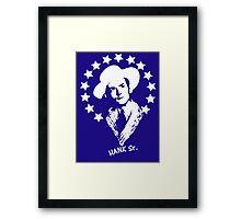 Hank Williams (Sr.) Framed Print