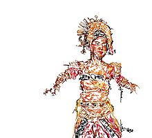Indonesian Dancer by gematrium