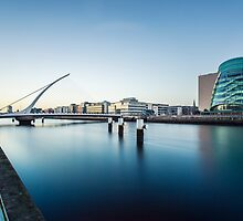 Samuel Beckett Bridge, Dublin, Ireland by Alessio Michelini