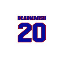 National Hockey player Butch Deadmarsh jersey 20 Photographic Print