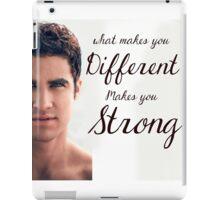 Darren Criss Quote iPad Case/Skin