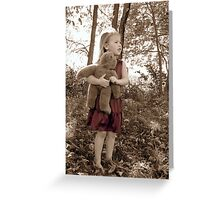 Autumn Comfort Greeting Card