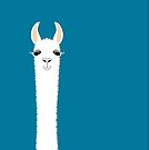 LLAMA PORTRAIT #10 by Jean Gregory  Evans