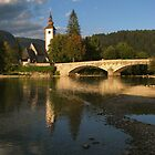 Bohinj Jezero, Slovenija by TheStaggeringGenius