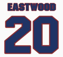 National Hockey player Mike Eastwood jersey 20 by imsport