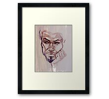 Portrait of Lester Framed Print