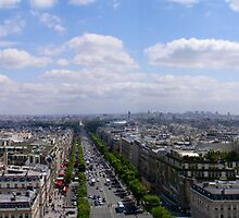 Paris Cityscape by Ponder