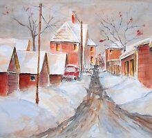 The Back Lane by bevmorgan