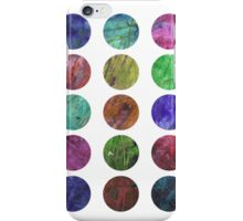 circles and textures iPhone Case/Skin