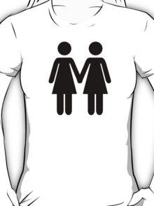 Lesbian couple T-Shirt