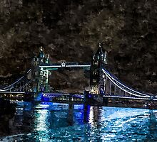 Artwork Tower Bridge by ncp-photography