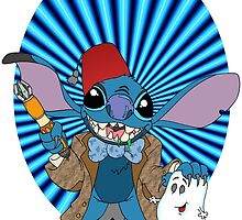 Doctor Who Stitch by Skree