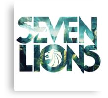 Seven Lions Canvas Print