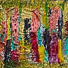 November - painting - Abstract . by © Andrzej Goszcz,M.D. Ph.D