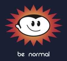 Be Normal: Normal Boy Superstar by jolo