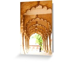 Agra Fort - India Greeting Card