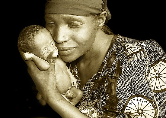 &#x27;Mother and child&#x27; Northern Rwanda. By Rebecca Zachariah &amp; Melinda Kerr by Melinda Kerr