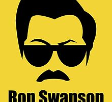 Ron Swanson by kylefairhurst