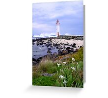 Port Fairy Lighthouse, Victoria, Australia Greeting Card