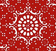 red background  by jymartin