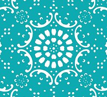 Turquoise background by jymartin