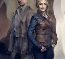 Nolan and Amanda Defiance Season 1 by IndoLovePaints