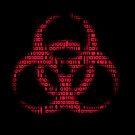 Binary Biohazard (Red) by GrimDork