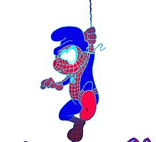 Spider Smurf Blue by Skree