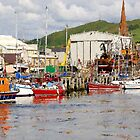 Girvan Harbour by Tom Clark