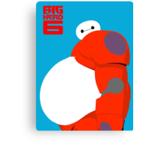 "Baymax Robot 6 ""Big Belly"" Canvas Print"