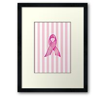 Pink Ribbon Donation Framed Print