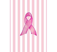Pink Ribbon Donation Photographic Print