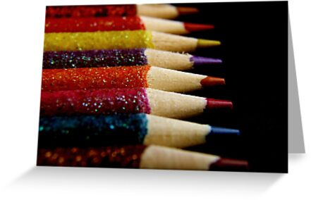 Color Pencils by Martie Venter