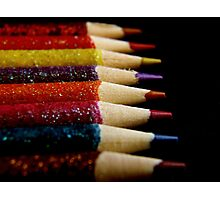 Color Pencils Photographic Print