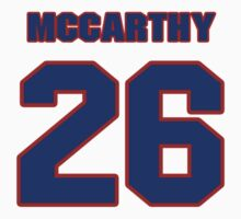 National Hockey player Steve McCarthy jersey 26 by imsport