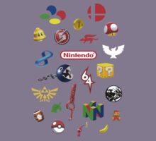 Nintendo collage Kids Clothes