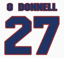 National Hockey player Sean O'Donnell jersey 27 by imsport