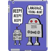 Beeping Robot iPad Case/Skin