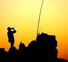 Fishin an Drinkin by Andrew Wilson