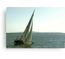 Messing About In Boats Canvas Print