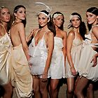Models Backstage by Alexander Gitlits