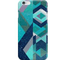 Voodoo Zulu Blue Chevron iPhone Case/Skin