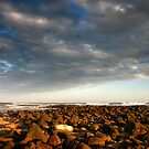 Rocky Foreshore by Hans Kawitzki