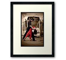 Draped In Elegance Framed Print