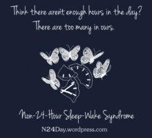 Too Many Hours - dark shirts by Sparrow Rose Jones
