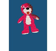 Pink Teddy Bear Breaking Bad Photographic Print