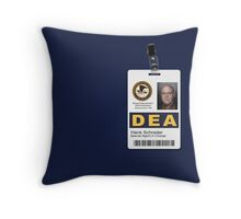 Special Agent in Charge V2 Throw Pillow