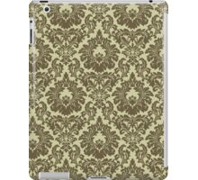 French Provincal Fleur De Lis in Olive iPad Case/Skin